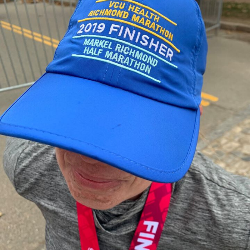 Stephanie Heinatz Richmond Marathon 2019 1