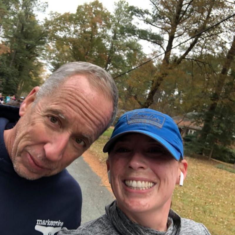 Stephanie Heinatz Richmond Marathon 2019 2