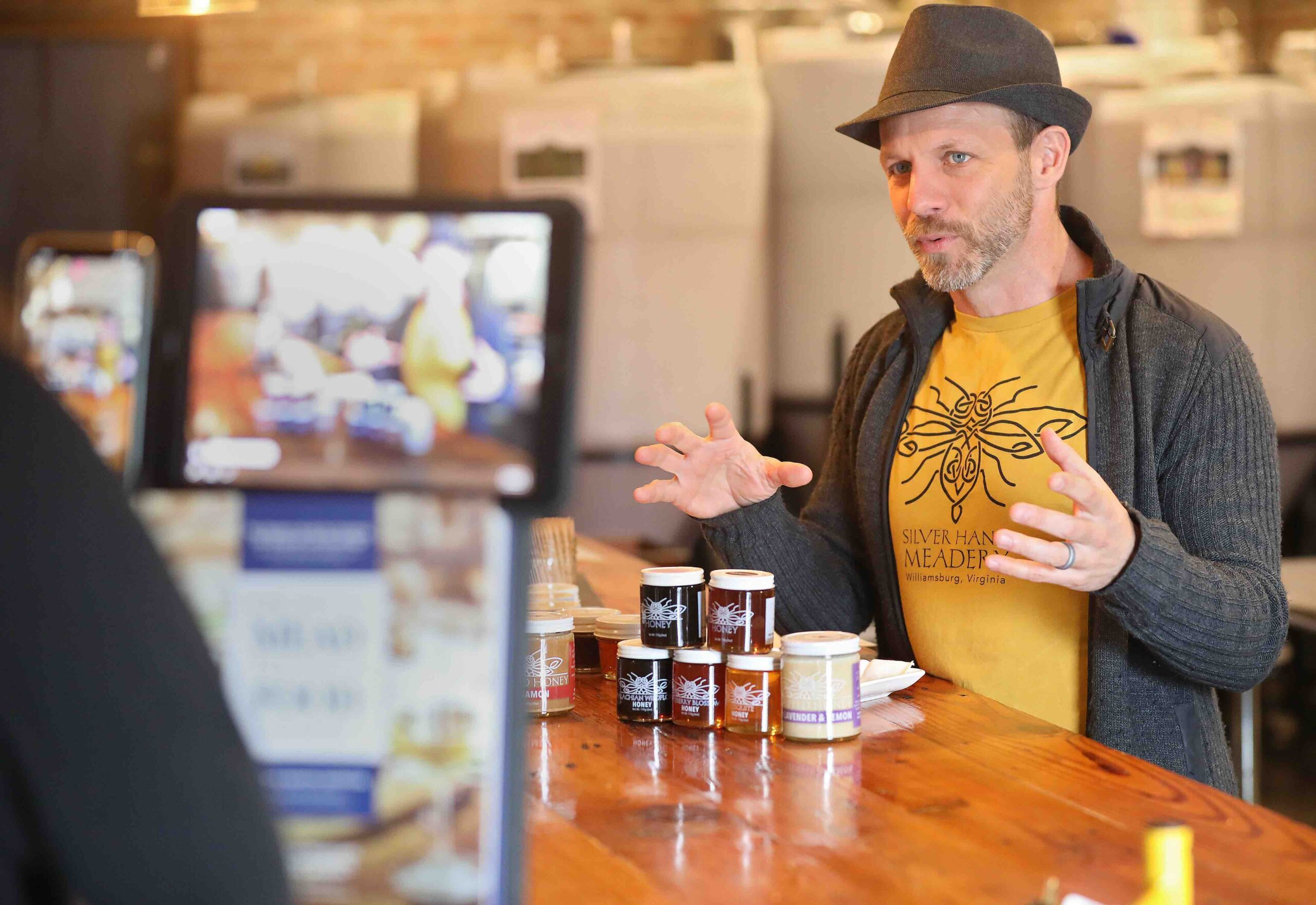 Glenn Lavender online honey tasting